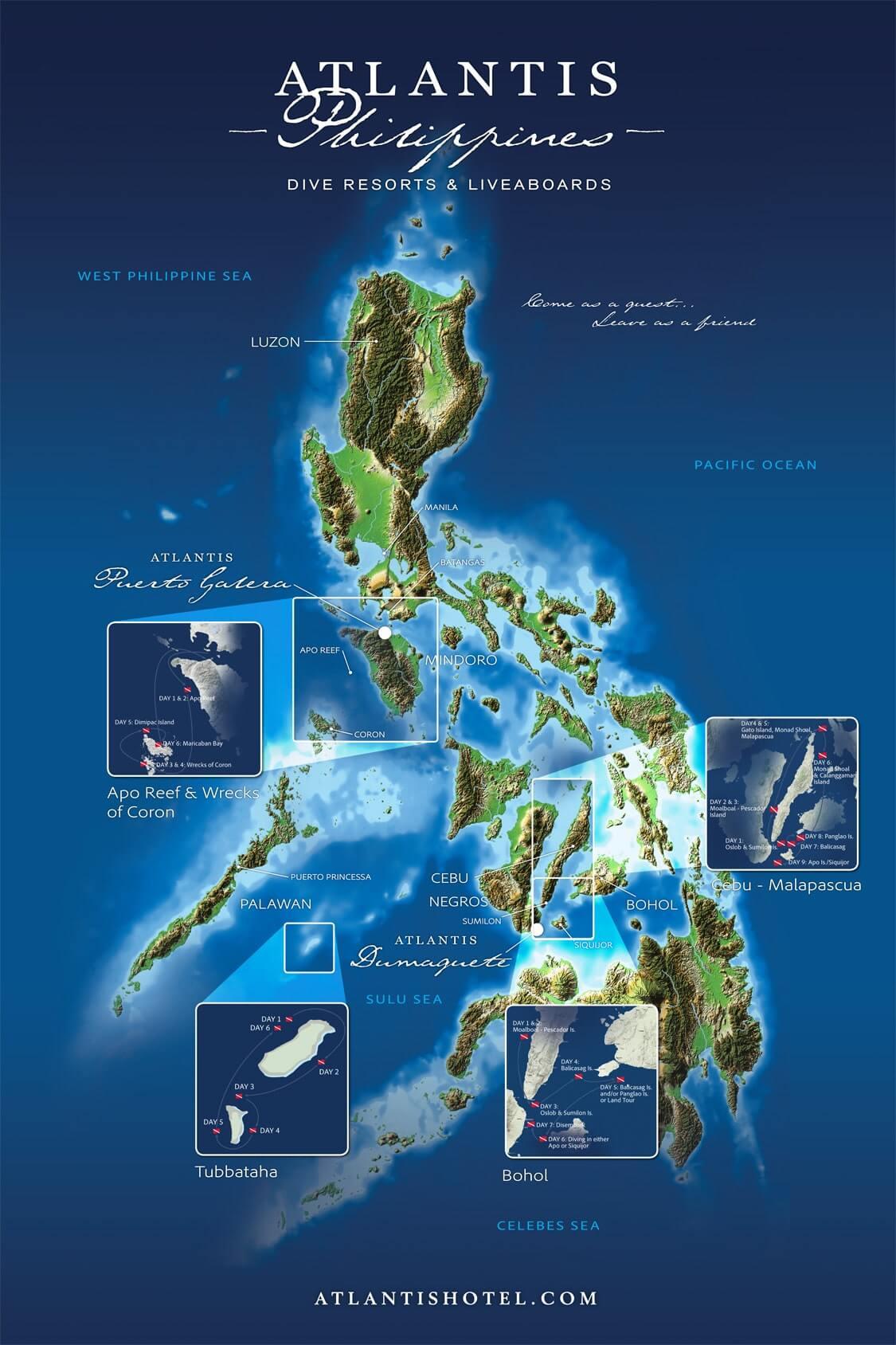 atlantis azores map routes