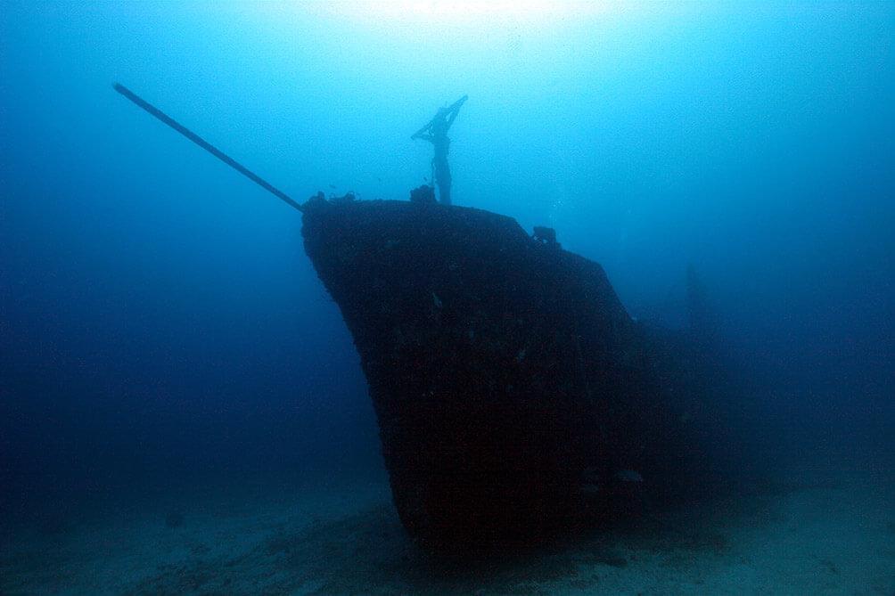 Sabang Puerto Galera Underwater Wrecked